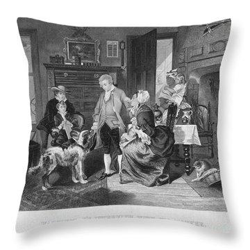 George Washington Throw Pillow by Granger