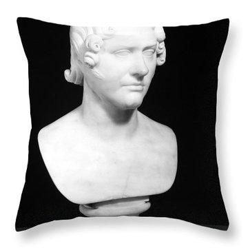 George Gordon Byron (1788-1824) Throw Pillow by Granger