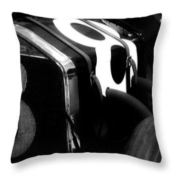 8 Racer Throw Pillow