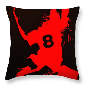 8man Throw Pillow by Michael Ringwalt