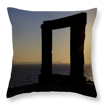 Naxos - Cyclades - Greece Throw Pillow by Joana Kruse