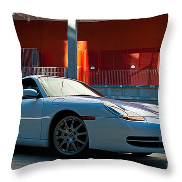 911 Porsche 996 2 Throw Pillow by Stuart Row