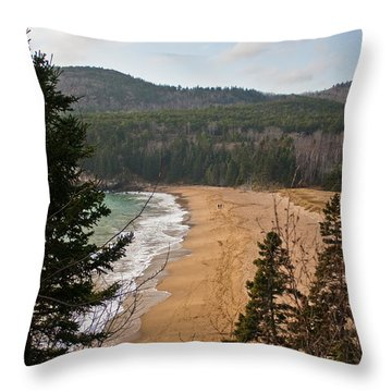 A Beautiful Place Throw Pillow by Greg DeBeck