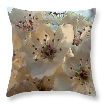 Throw Pillow featuring the photograph A Beautiful Thing by Steven Lebron Langston