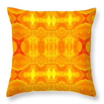 A Brighter Day Throw Pillow by Jen Sparks