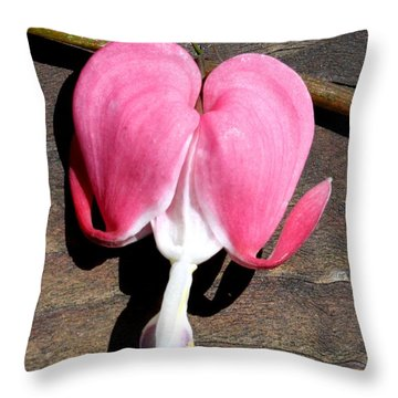 A Broken Heart Throw Pillow