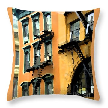 A Building 2 Throw Pillow