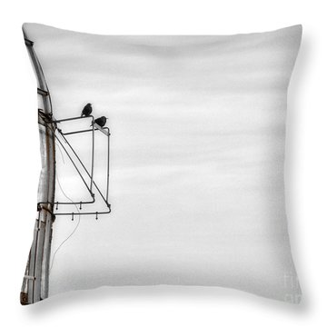 A Change Is Coming Throw Pillow