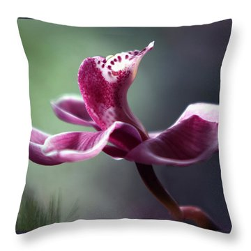 A Cup Of Ambrosia Throw Pillow