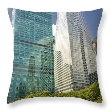 A Day In The Park Throw Pillow by Donovan Conway