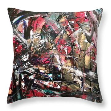 A Day Off Decco Road  Throw Pillow
