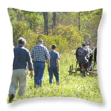 A Family Affair Throw Pillow