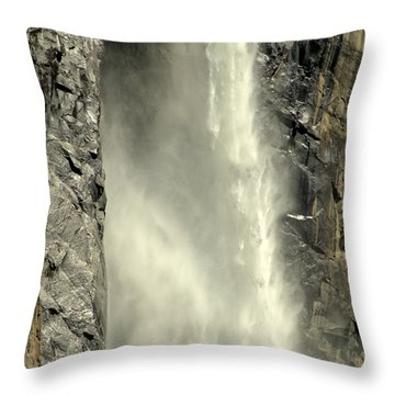 A Force Of Nature Throw Pillow by Lynn Bauer