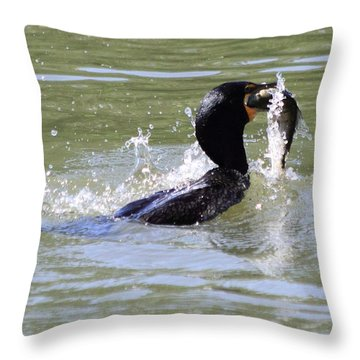 A Fresh Meal Throw Pillow