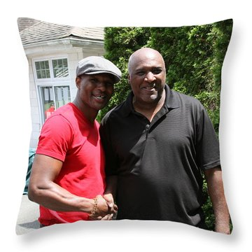 A Friend Bernard Hopkins Throw Pillow