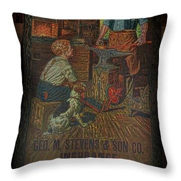 A Friend In Need Throw Pillow by Deborah Benoit