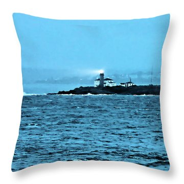 A Friend In The Darkness Throw Pillow by Kristin Elmquist