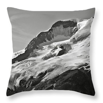 A Glacier In Jasper National Park Throw Pillow by RicardMN Photography