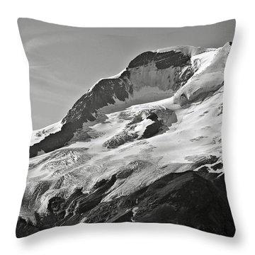 A Glacier In Jasper National Park Throw Pillow