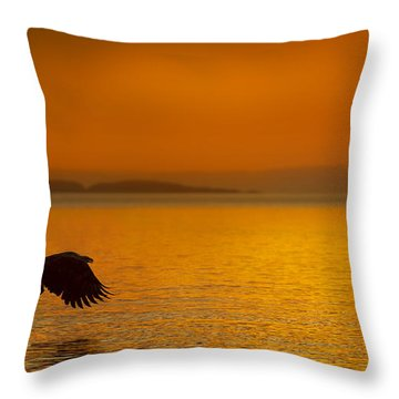 A Late Supper Throw Pillow