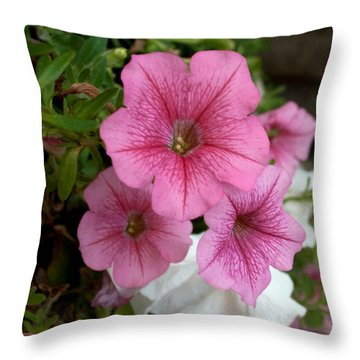 A Little Pink Throw Pillow