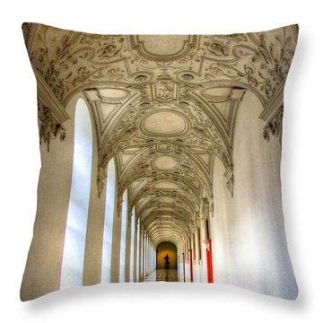 A Long Way Throw Pillow by Syed Aqueel