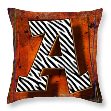 A Throw Pillow by Mauro Celotti