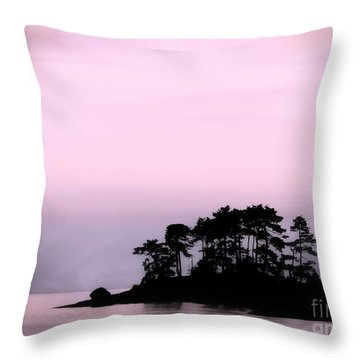 A Moment Of Tranquility Throw Pillow by Gail Bridger