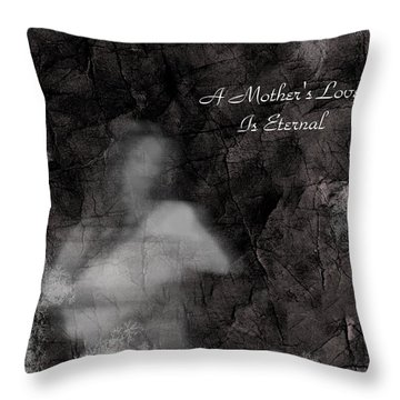 A Mother's Love Throw Pillow by Rhonda Barrett