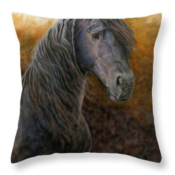 A Natural Beauty Throw Pillow