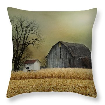 Throw Pillow featuring the photograph A New Dawn by Mary Timman