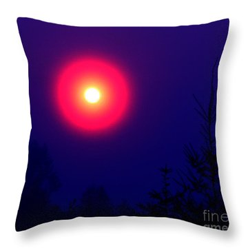 A New World Throw Pillow by Rory Sagner