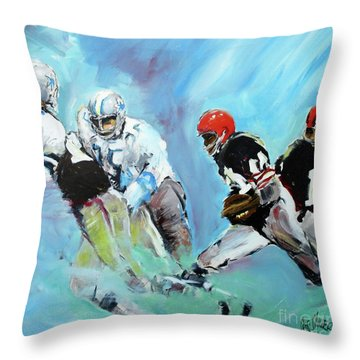 A Painting For Rawbone Throw Pillow