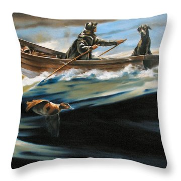 A Pair After Crossman Throw Pillow