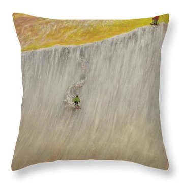 A Pair Beats A Full House Throw Pillow by Michael Cuozzo