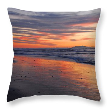 Throw Pillow featuring the photograph A Passion For Purple by Lynn Bauer