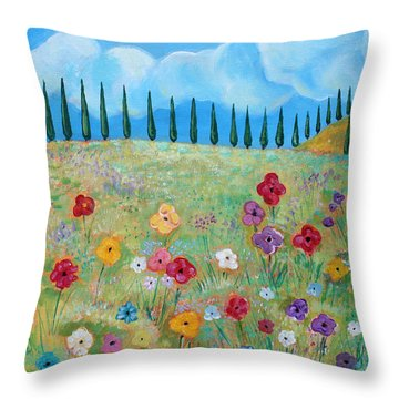 A Peaceful Place Throw Pillow by John Keaton
