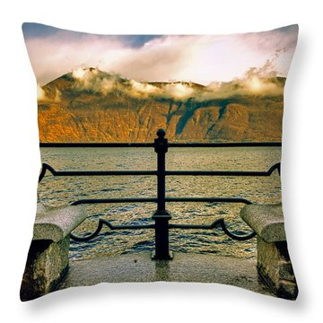 A Place For Two Throw Pillow by Joana Kruse
