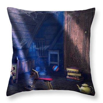 A Place Of Memories Throw Pillow by Jutta Maria Pusl