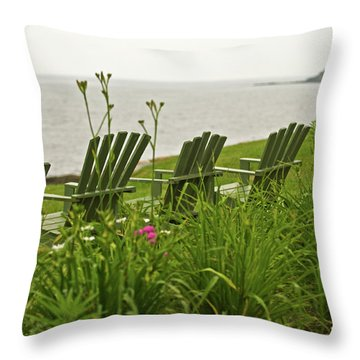 A Place To Relax Throw Pillow by Paul Mangold