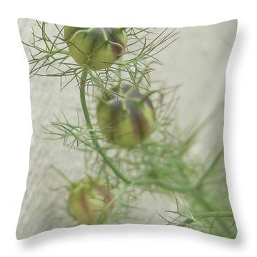 A Promise Of Love  Throw Pillow by Pamela Patch