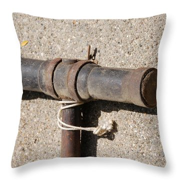A Really Old Hammer Throw Pillow by Randy J Heath