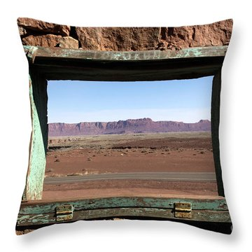 Throw Pillow featuring the photograph A Room With A View by Karen Lee Ensley