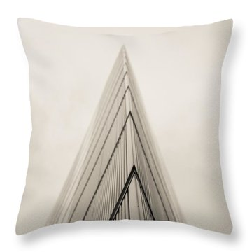 A Sharp Point. Throw Pillow by Lenny Carter