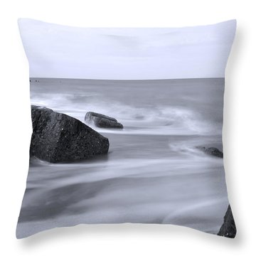 a Touch of Colour Throw Pillow by Svetlana Sewell
