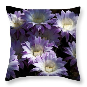 A Touch Of Lavender  Throw Pillow by Saija  Lehtonen