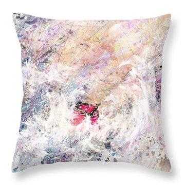 a Trial Throw Pillow by Rachel Christine Nowicki