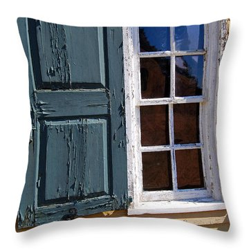 A Window Into The Past Wipp Throw Pillow by Jim Brage