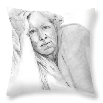 A Working Model  Throw Pillow
