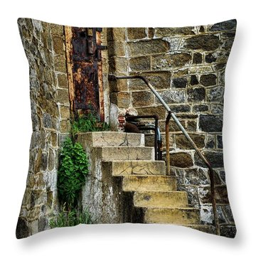 Abandon Hope Throw Pillow by Paul Ward